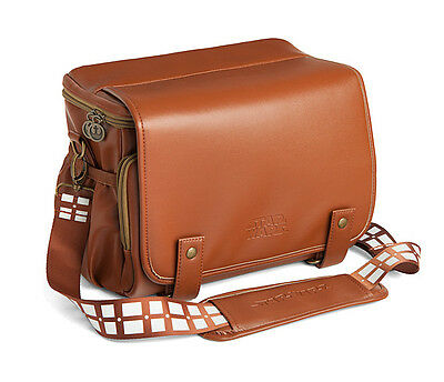 Star Wars Chewbacca Day Pack Camera Bag Slin from Disney offically liscensedNEW