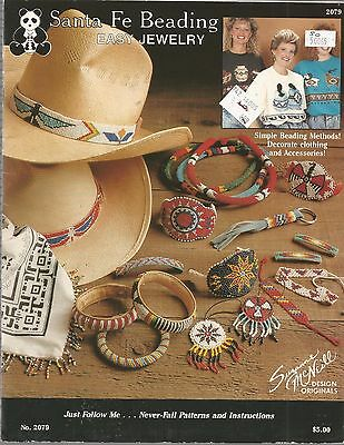 Easy Jewelry Bead Patterns Santa Fe Beading Instructions Bracelets Necklaces A70