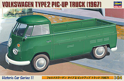 Hasegawa HC-11 1/24 Scale Model Kit Volkswagen Type 2 Pic-Up Truck 1967