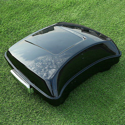"""5.5"""" Razor Tour Pak Pack Trunk For Harley Touring Road King Electra Glide 14-17"""