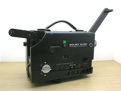 Bolex SM80 Programmatic Super 8 / Single 8 Cine Projector - Sound