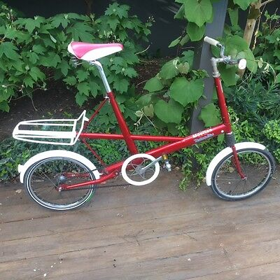 RARE VINTAGE F FRAME MOULTON BICYCLE (1960's) made by Malvern Star under licence