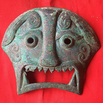 antique   The ancient Chinese have mask of holy things