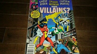 What If? #17 (Oct 1979, Marvel) VF...GHOST RIDER..SPIDER-WOMAN..CAPT MARVEL!!