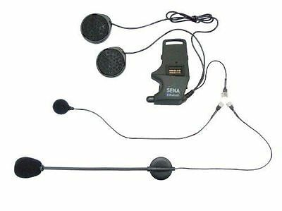 Sena SMH10 Helmet Clamp Kit Attachable Boom Microphone and Wired SMH-A0302