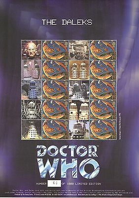 BC-027 2004 Doctor Who - The Daleks Business Smilers Sheet