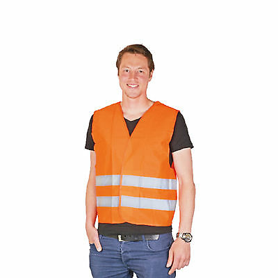 Set Of 4 Safety Vest Reflective One Size Fits All Warning Vest Accident Vest