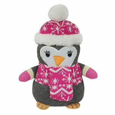 Aroma Home Lavender Penguin Microwaveable Knitted Cosy Friend