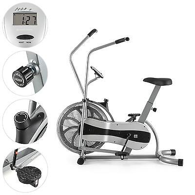 Indoor Cycling Trainer Cross Trainer Fan Fit Bike Ausdauer Ergometer Computer