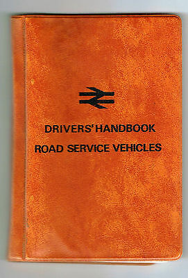 Drivers' Handbook - Road Service Vehicles. BR14220. Very good condition.