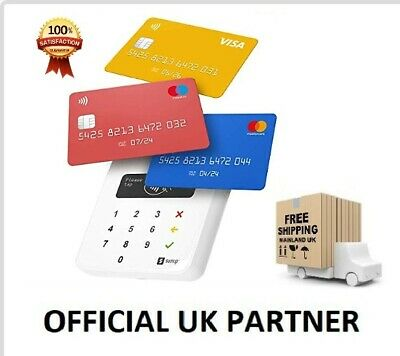 UK Partner - SumUp AIR Chip & Pin & Contactless Reader - FREE P&P -UK 🇬🇧 Stock