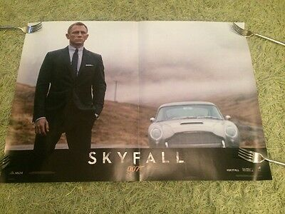 Rare Skyfall James Bond Italian Film Poster