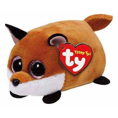 Teeny Ty - Finley Beanie Babies Fox Soft Toy TY42135 New with tags