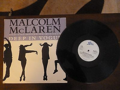 MALCOLM McLAREN & THE BOOTZILLA ORCHESTRA - DEEP IN VOGUE - 12""