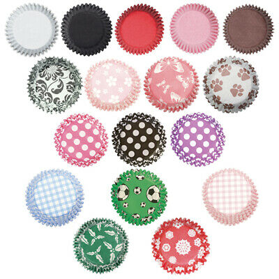 Cupcake Baking Cases - Culpitt - Greaseproof Paper Coloured and Patterned