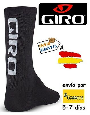 CALCETINES CICLISMO GIRO HRC TEAM, color Negro