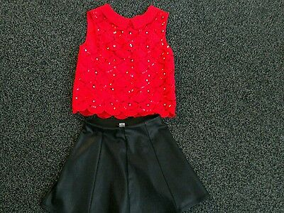 lovely girls outfit river island and george