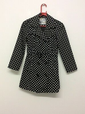 B896 Girls Tammy Jacket Coat Size 10-11years Good Condition
