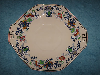 antique doulton burslem nankin plate 1902