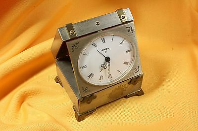 Reloj Plegable Despertador Baúl. S.XX Folding Alarm Clock Chest