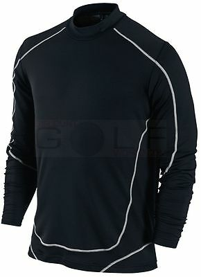 Nike Golf Compression Base Layer Thermal Winter Top Large White