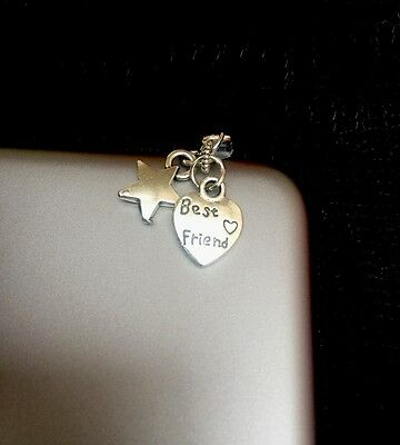 Best Friend Dust Plug Dangle Charm For Mobile Phone * Tablet* iPad* iPhone
