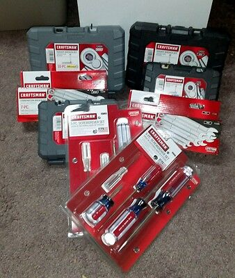 66 PC. craftsman tool set. See pictures. GET IT QUICK.. FREE SHIPPING!