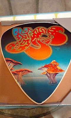 "CLASSIC YES Wall Decor Guitar Pick Plaque 13""x14"" Yessongs Roger Dean Art New"