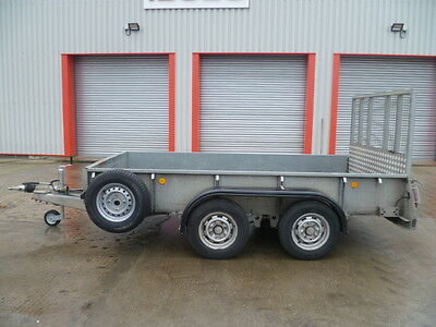 Ifor Williams Twin Axel Plant Trailer
