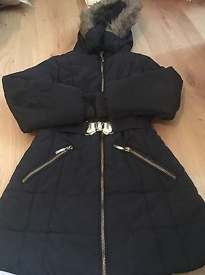 Lovely Girls It Hooded Jacket Coat Age 5-6 Years