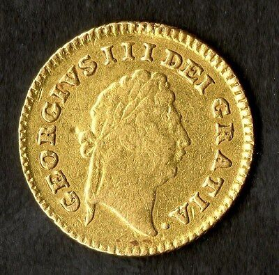 Gold Third Guinea 1798 George III Ex Jewellery Otherwise Very Fine Condition