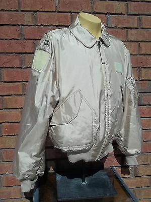 CWU-45/P (Winter Weight) Flight Jacket - XX-Large - TAN  - EXCELLENT CONDITION !