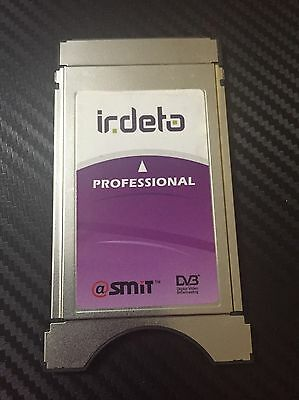 Official Irdeto Professional 8 Channel Satellite TV CAM Module Service by SMIT