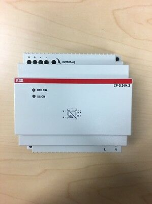 ABB Switch Mode power supply, CP-D24/4.2, 1SVR427045R0400, 100-240 in 24VDC out