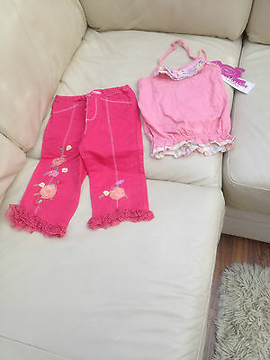 Girls Designer Co ord  Summer Outfit Age 5