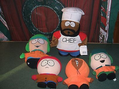Lot Of 5 Comedy Central South Park Plush