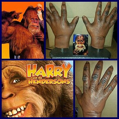 RICK BAKER of STAR WARS , MIB fame original movie prop HARRY AND THE HENDERSONS