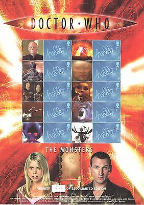 BC-060 2005 Doctor Who - The Monsters Business Smilers Sheet
