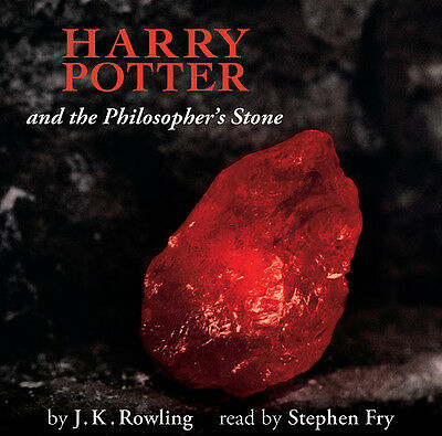 Harry Potter & the Philosopher's Stone 7 CDs New & Sealed Stephen Fry Audio Book