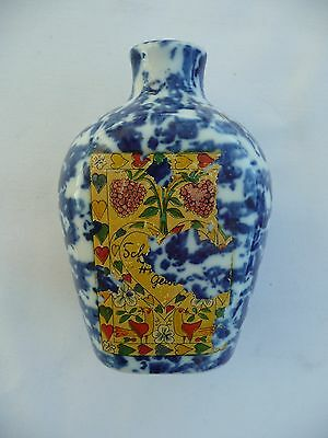 CHINA BOTTLE SHAPED FIGURINE - Made in Bavaria 1980's