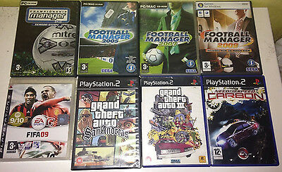 Job Lot Of PS2, PS3, PC Video Games