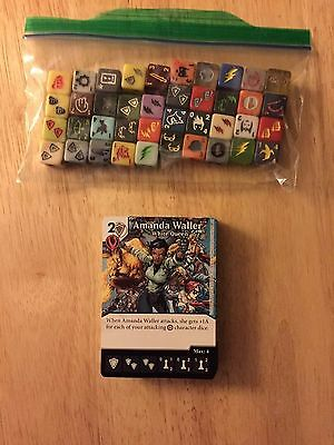 DC Dice Masters Green Arrow Flash Complete Set of Commons