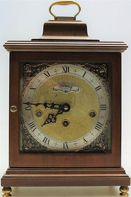 Vintage Warmink Walnut & Brass Musical Westminster Chime Bracket Clock TLC