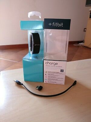 Fit Bit Charge Taglia L Nero Wireless Activity Wristband