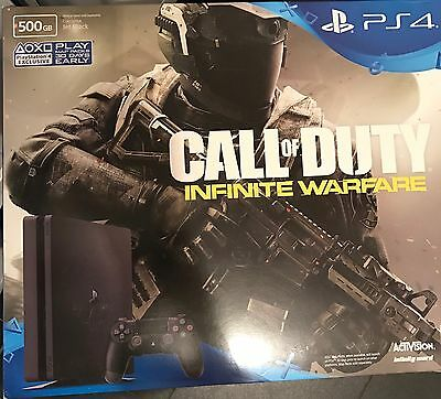 Sony Ps4 500gb with Call of Duty Infinite Warfare Brand New Sealed