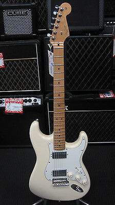 Fender American Standard Stratocaster HH MN OWT Electric Guitar, Hard Case