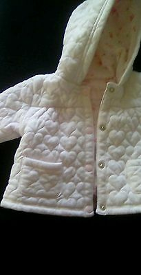 Next Baby girl,pink coat,age 3-6mths,good condition