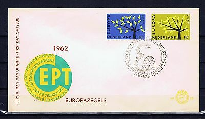 PAYS BAS NETHERLANDS - Europa CEPT 1962 - FDC