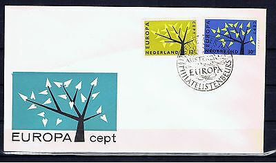 PAYS BAS NETHERLANDS - Europa CEPT 1962 - FDC  - Sept 17, 1962