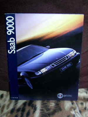1998 Saab 9000 Brochure Of 54 Pages Showing Some Stunning Photos Of The 9000.